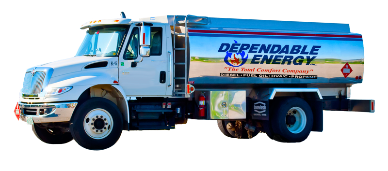 Dependable Energy Heating Oil Truck